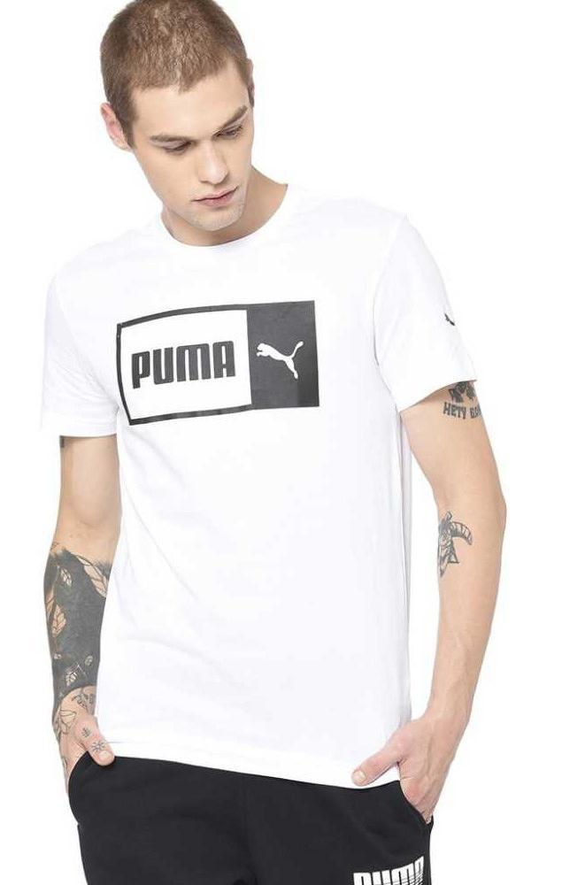 Typography Men Round Neck White T-Shirt