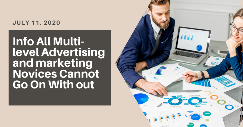 Info All Multi-level Advertising and marketing Novices Cannot Go On With out