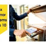 How to fix Printer in Error State Problems in Windows 10