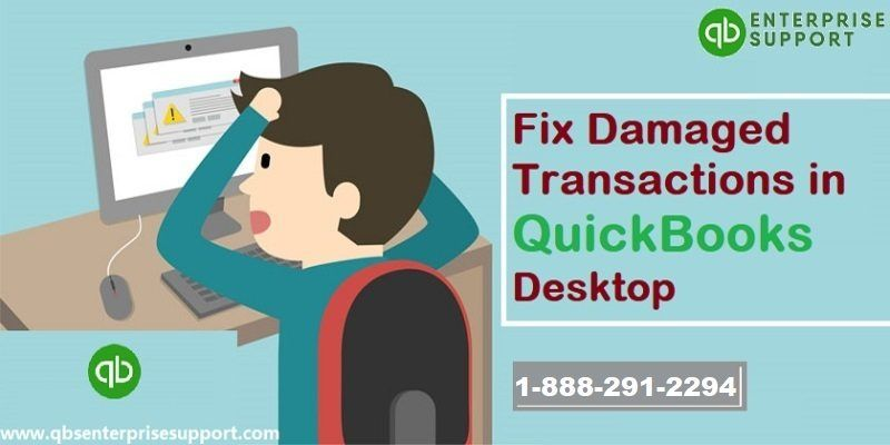 How to resolve damaged transactions in QuickBooks Desktop - Featured Image