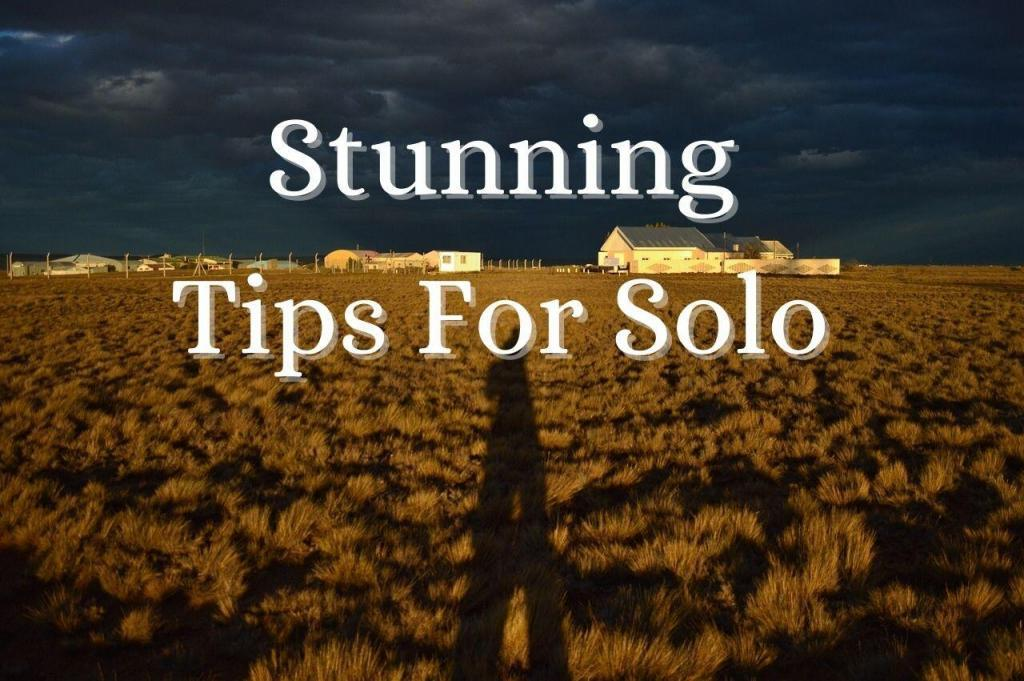 Stunning tips for Solo