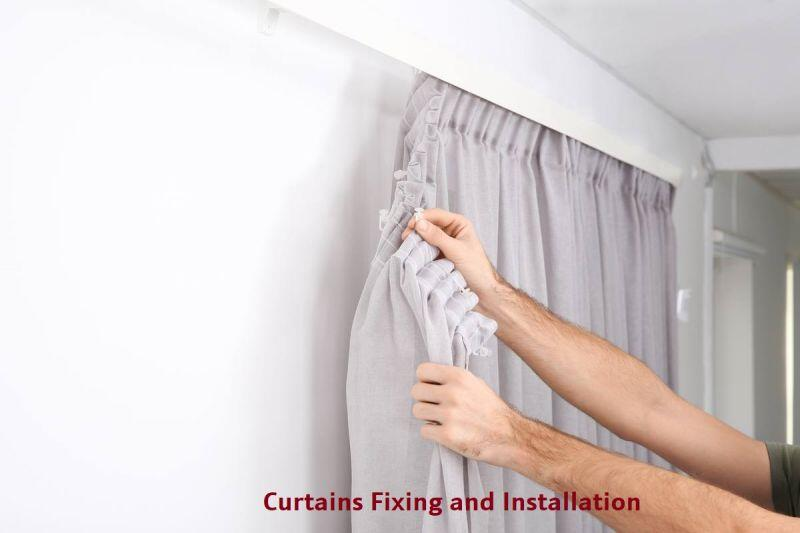 Curtains Fixing